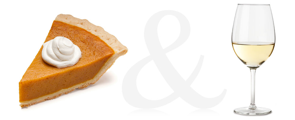 Pumpkin Pie and Chardonay