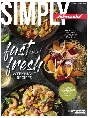 September Simply Schnucks Cover