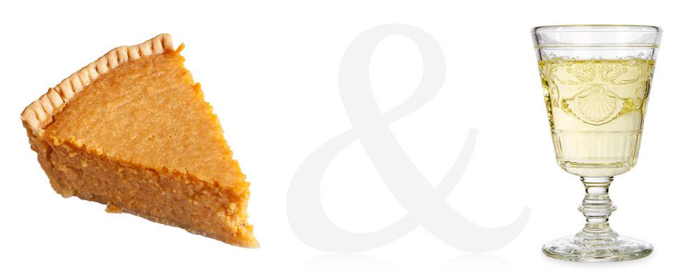 Sweet Potato Pie and Gewürztraminer