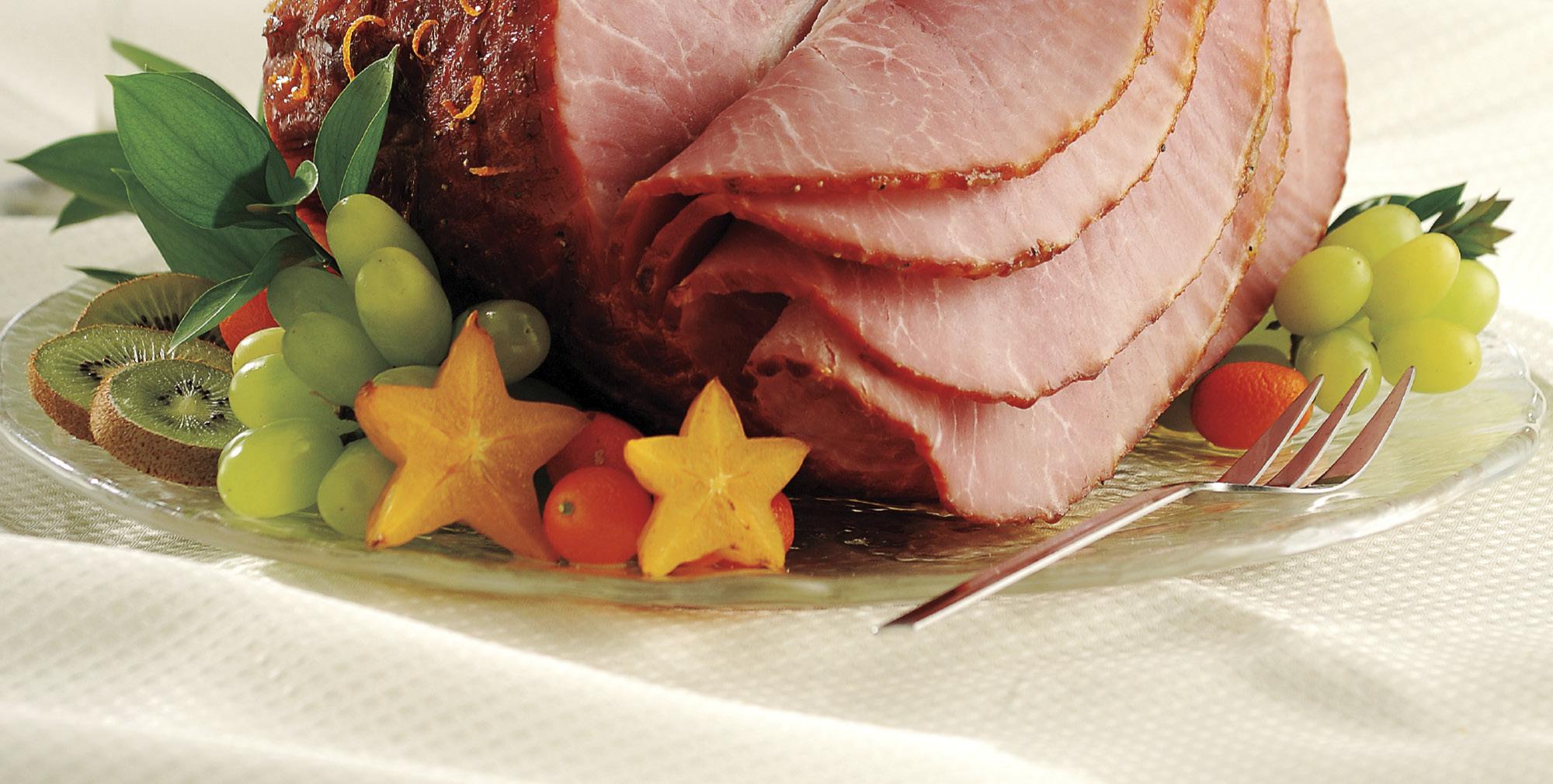 Spiced Orange-Glazed Ham