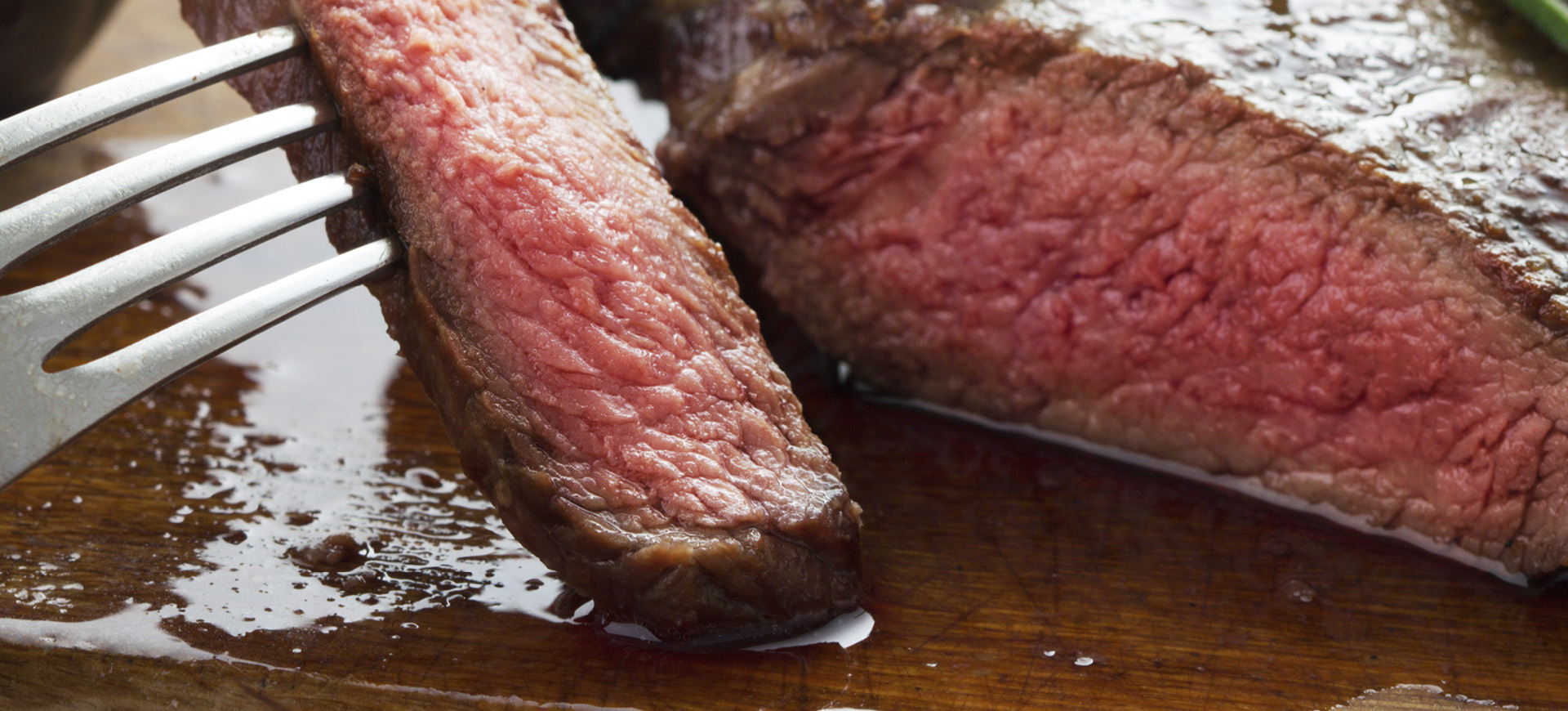 Skillet-Fried Porterhouse with Bourbon-Chipotle Butter
