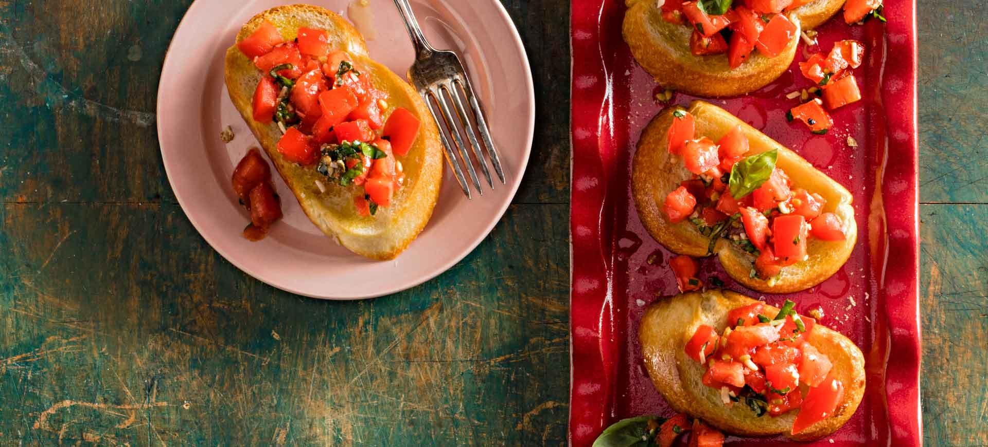 Tomato Balsamic Bruschetta