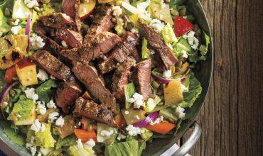 Chopped Grilled Steak Harvest Salad