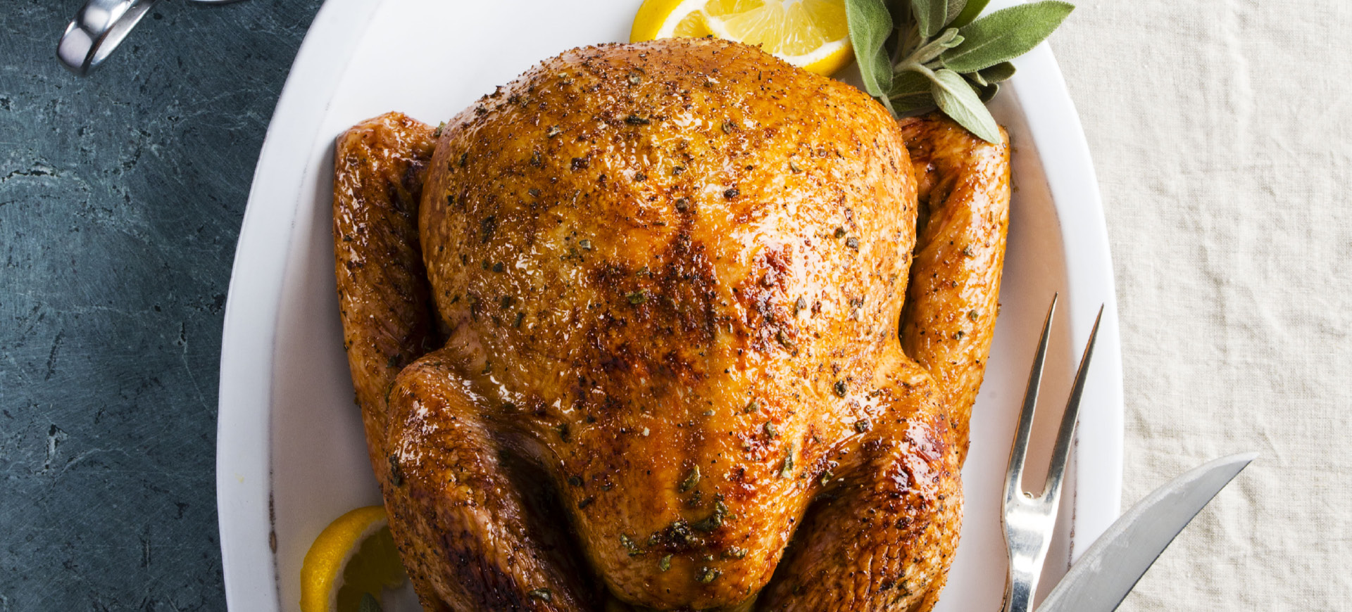 Honey Glazed Roasted Turkey