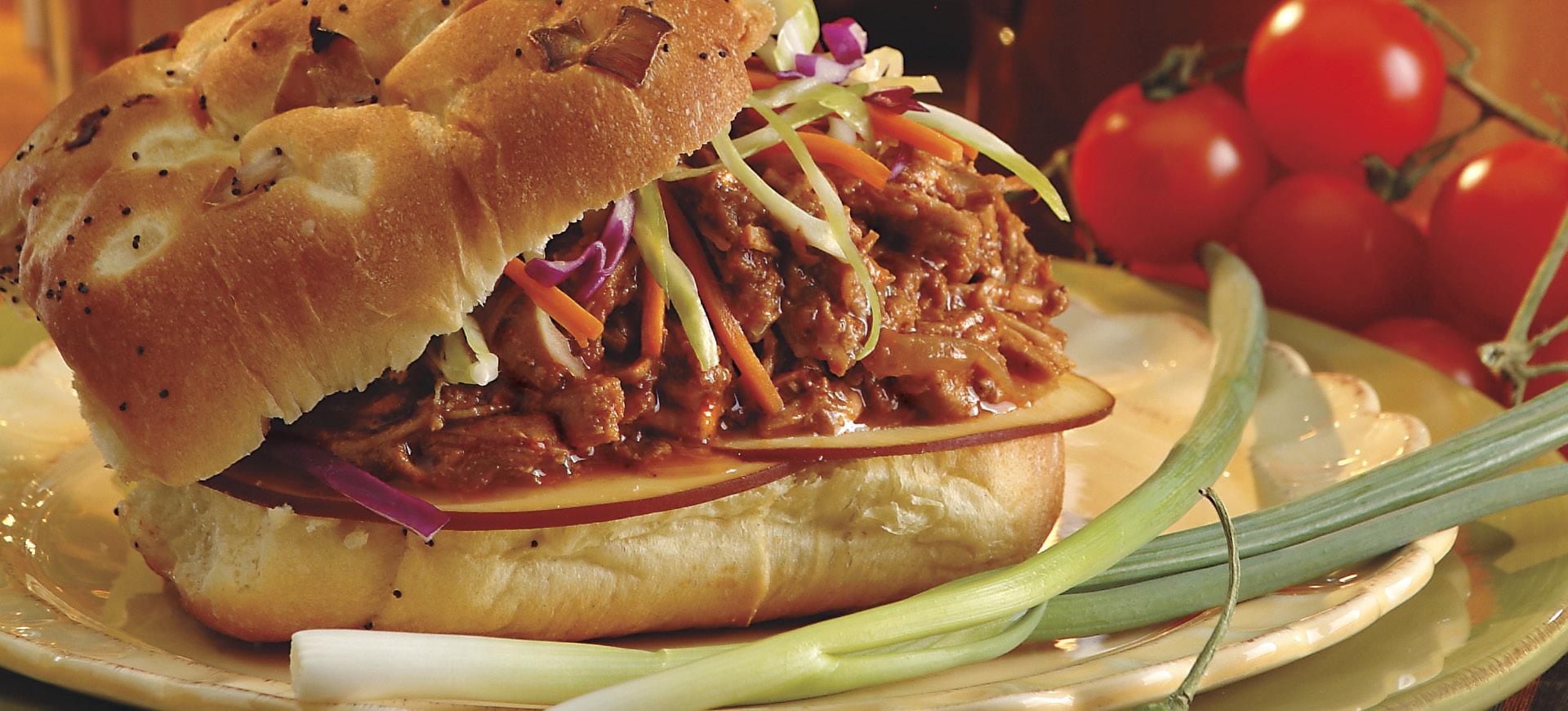 Smoky BBQ Pork Sandwiches - Schnucks