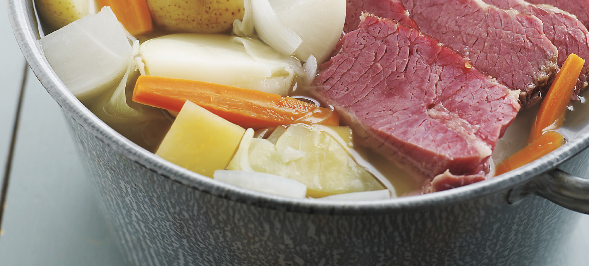Brown Sugar and Mustard Glazed Corned Beef with Vegetables