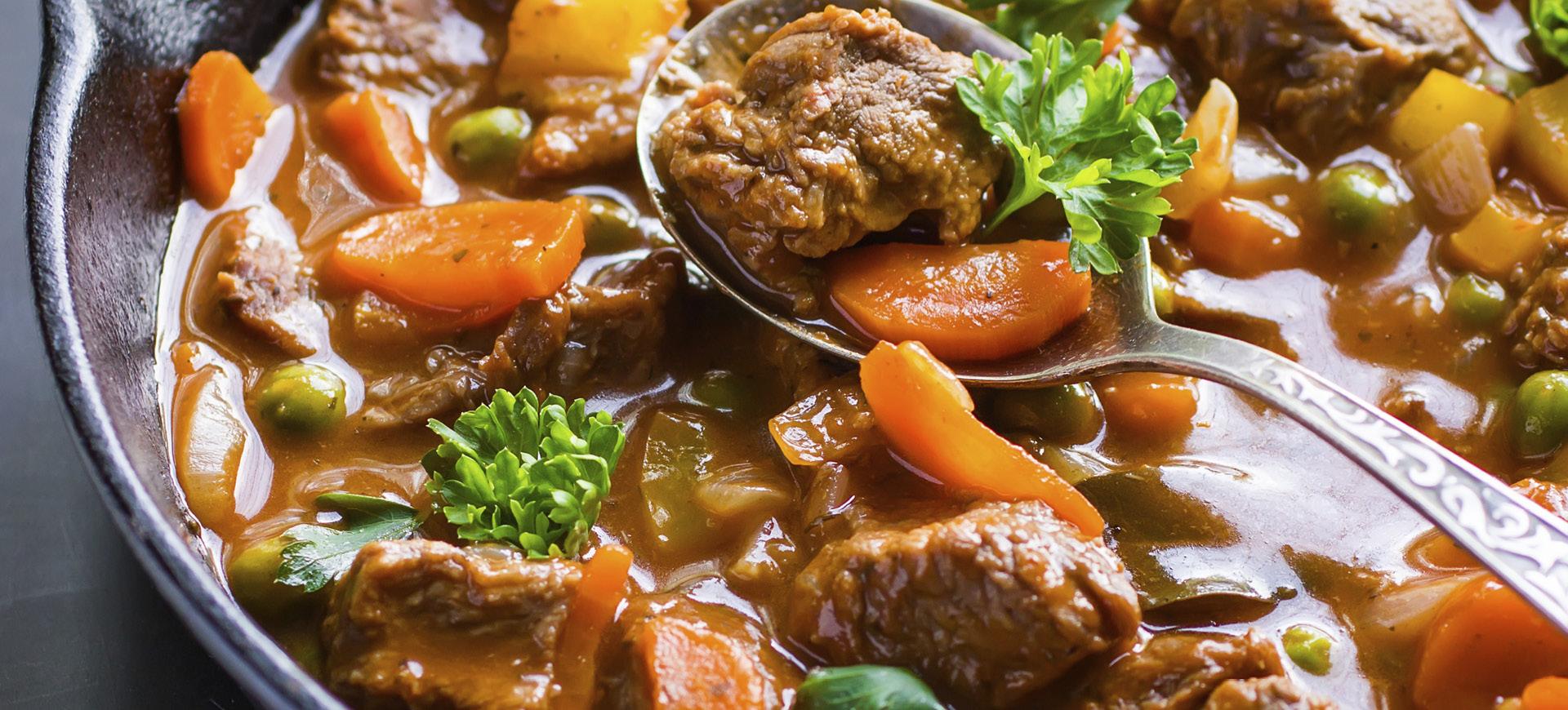 banner Irish slow cooker beef stew