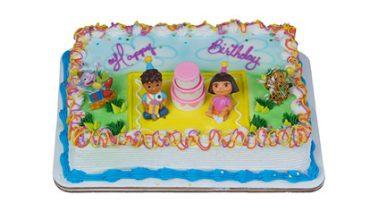 17 Dora And Diego Birthday Cake Wobbles