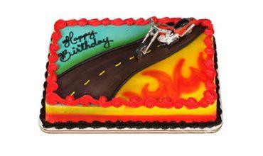Red Hot Chopper Cake
