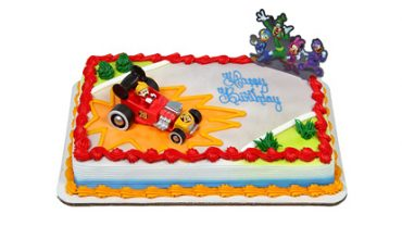 Mickey and Roadster Racers Cake