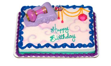 Shimmer and Shine Cake with kaleidoscope
