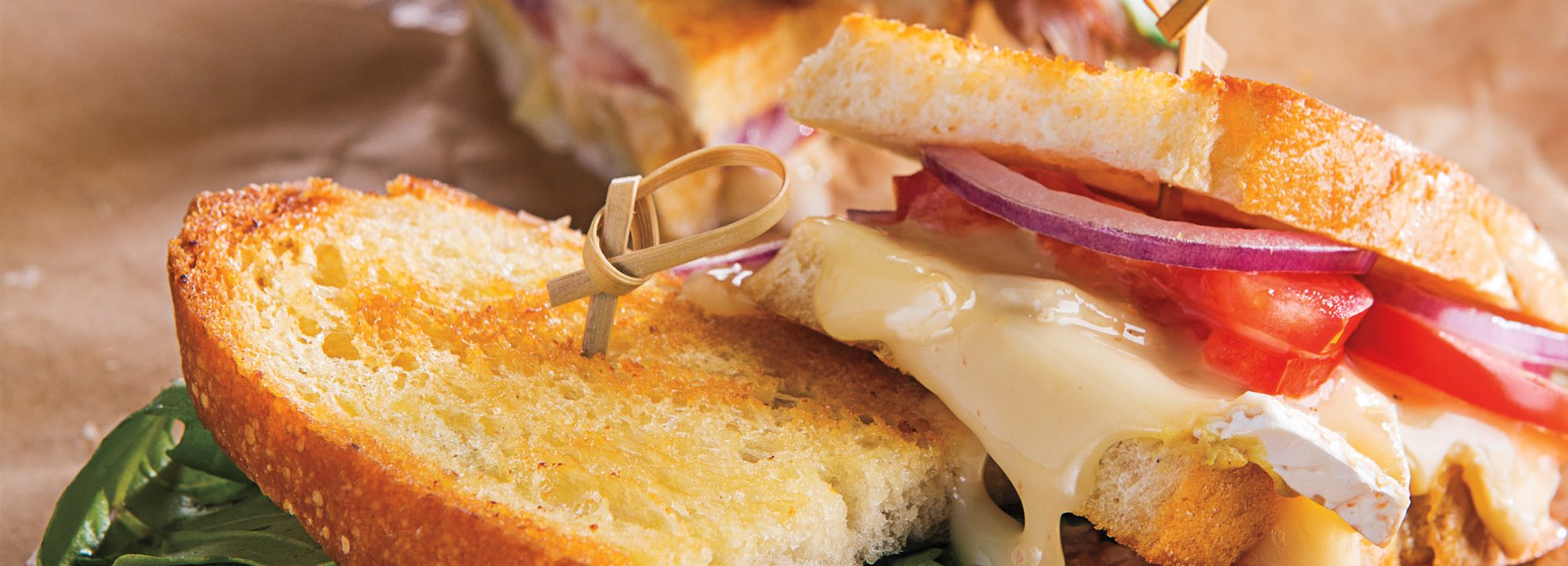 tomato brie red onion grilled cheese