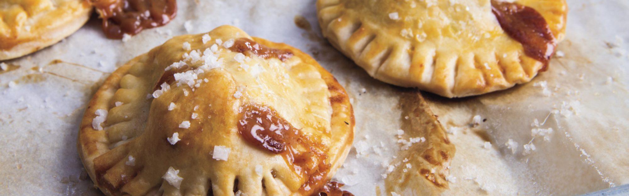 salted apple caramel hand pies