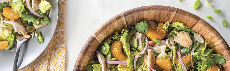 10 minute sesame chicken salad