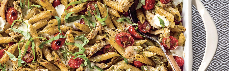 30 minute easy caprese pasta