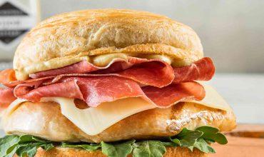 If You Croissant It. Flaunt It. Chicken Burger