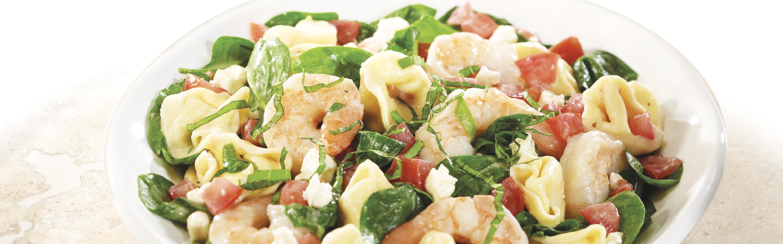 Tortellini Shrimp Caesar Salad