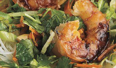 vietnamese grilled shrimp salad