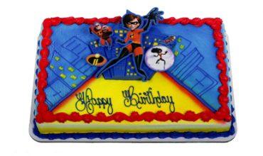 Incredibles 2 cake