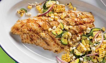 Grilled Marinated Catfish Fillets