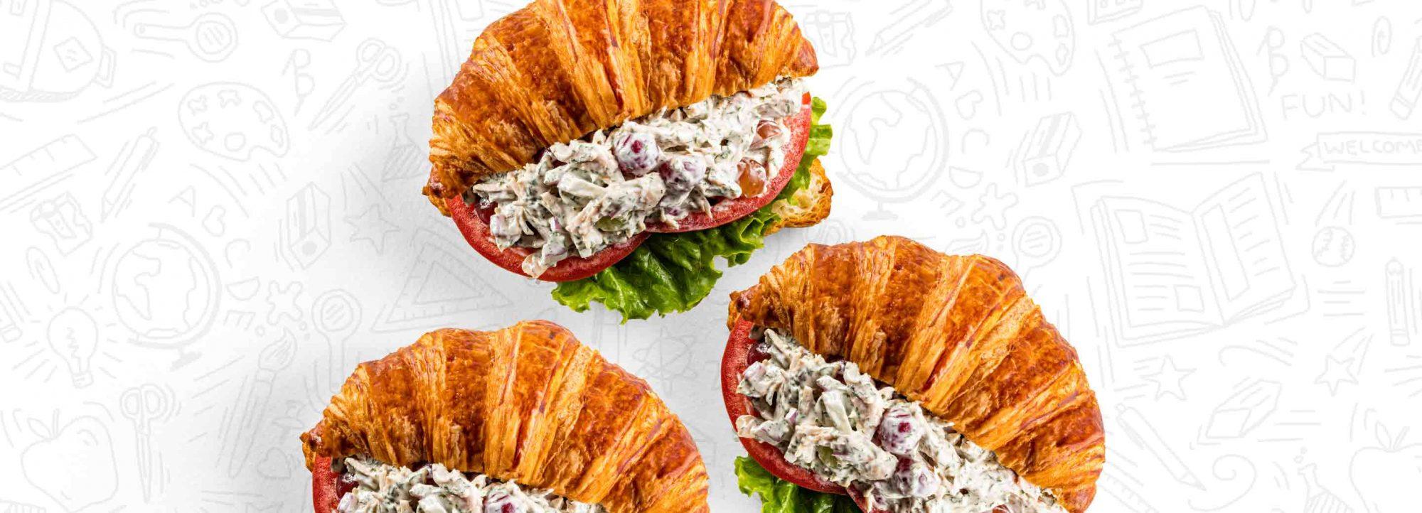 Loaded Chicken Salad Sandwich