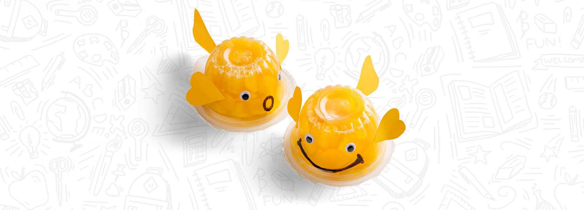 Schnucks Peach Cup Goldfish