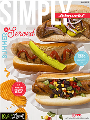 July Simply Schnucks Cover