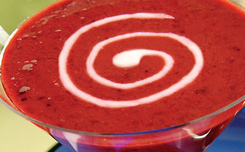 Chilled Cherry Berry Soup