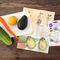 how to make avocado penguin