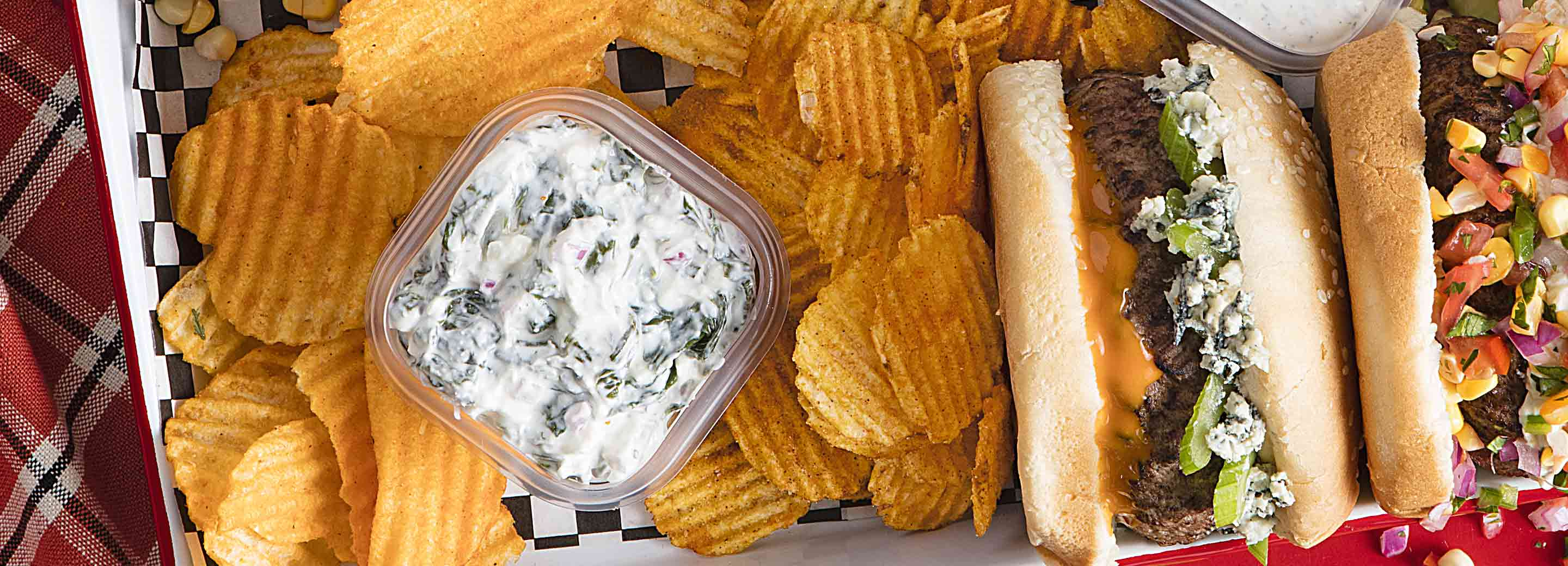 Safety spinach dip