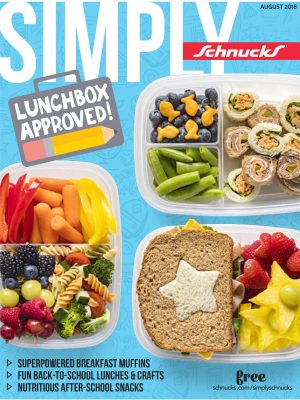 cover of August Simply Schnucks magazine