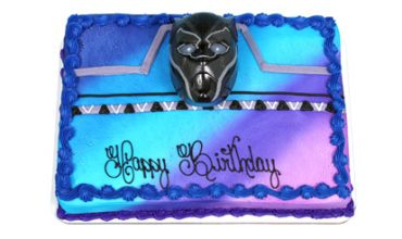 Black Panther Decorated Cake