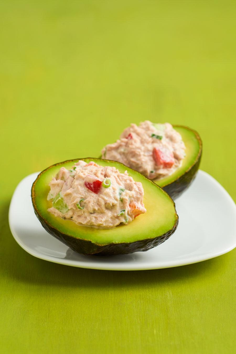 Avocado Tuna Boats