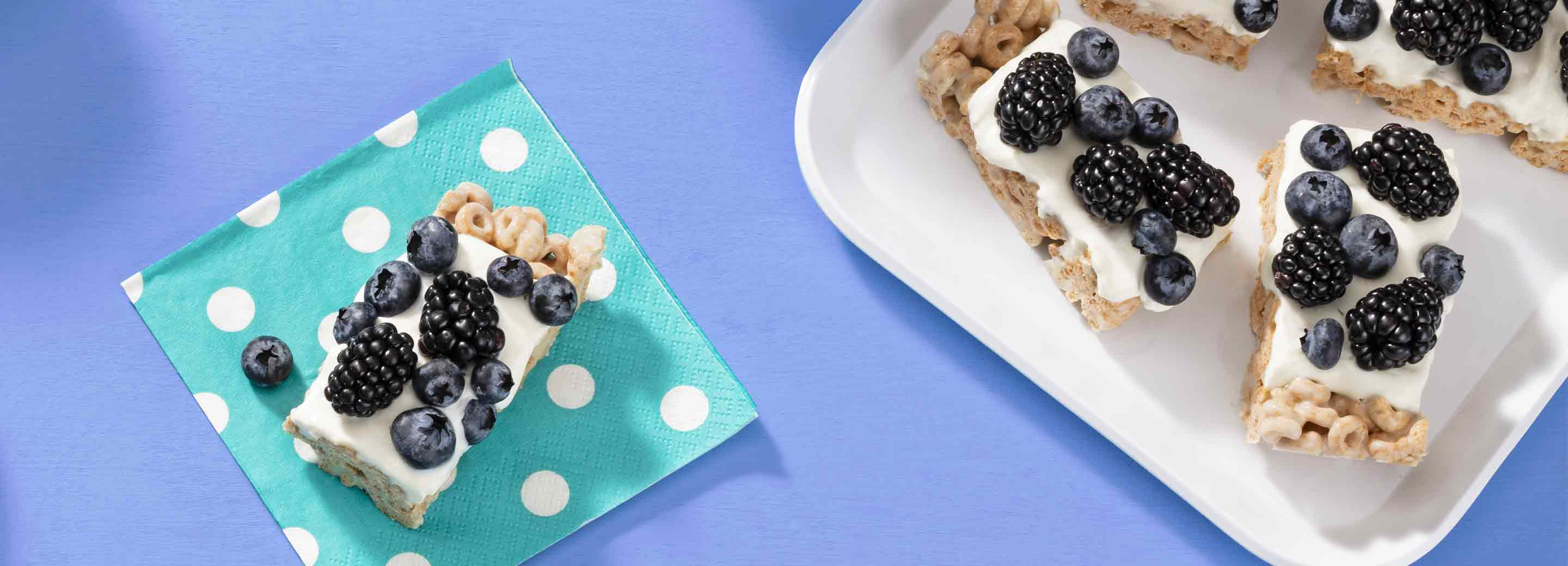 Berry Cereal Bars