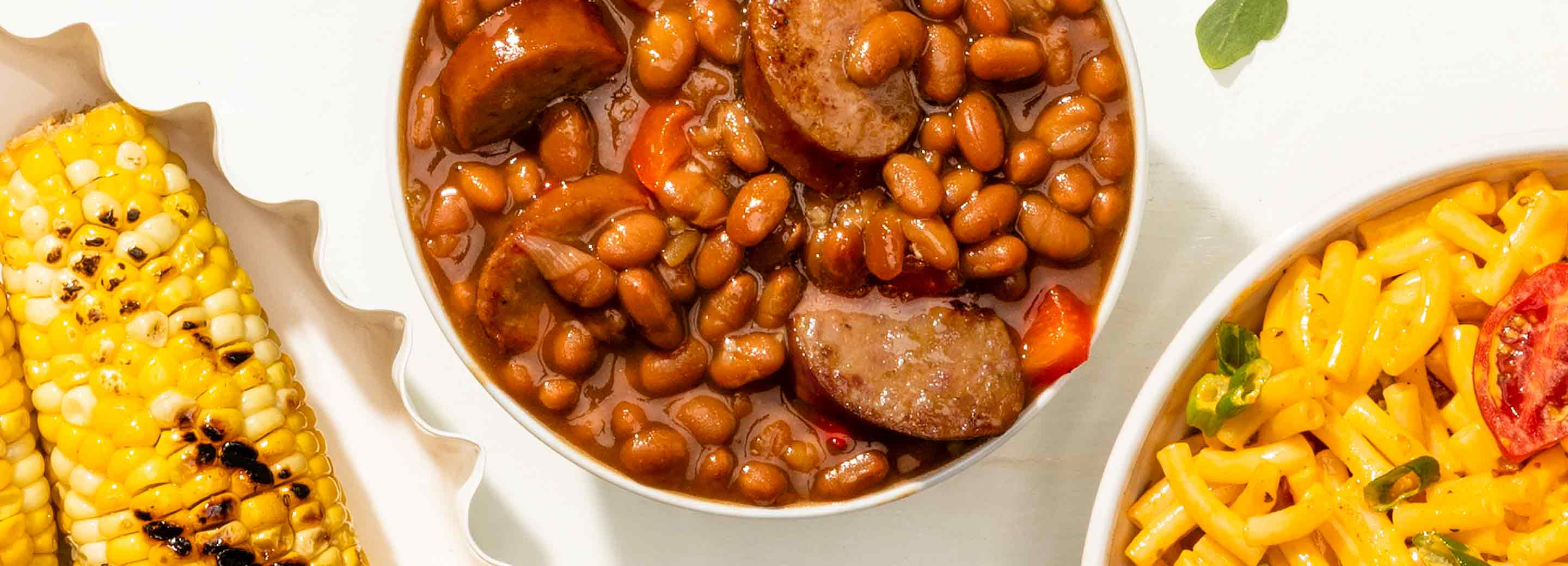 Barbecue Brats 'n' Beans