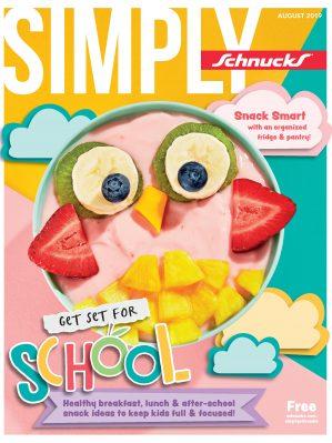 August Simply Schnucks cover