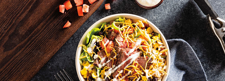 Steak Burrito Bowls