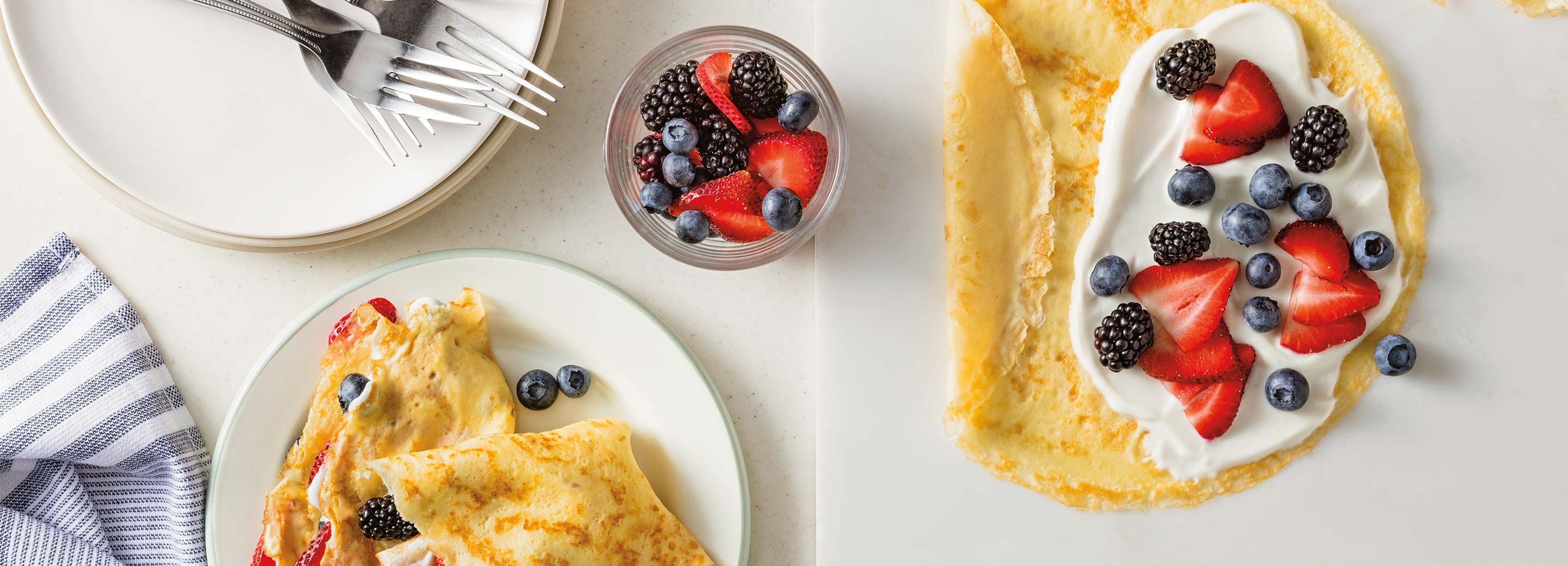 Sweet Berry Crepes