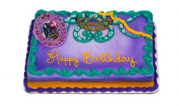 Disney Descendants 2 Sheet Cake