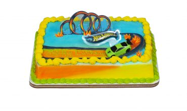 Hot Wheels Drift Cake