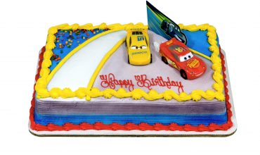 Cars- Ahead of the Curve Cake