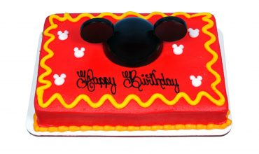 Kids Mousekateer Cake