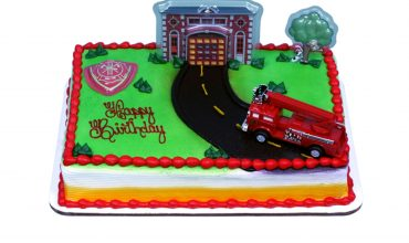 Schnucks Kid Firetruck Cake