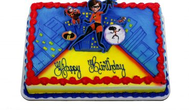 Kids Incredibles 2 Cake
