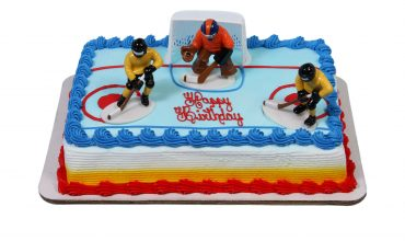 Hockey Sheet Cake
