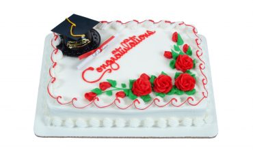 Traditional Graduation Cake