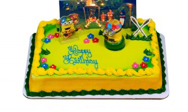 Despicable Me 3 Cake