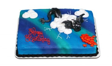Kids Dragon Creation Cake