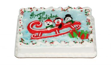 Holiday Friends Cake