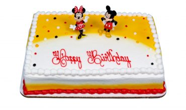 Kids Mickey and Minnie Cake